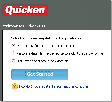 Quicken 2011 | ryancr's space